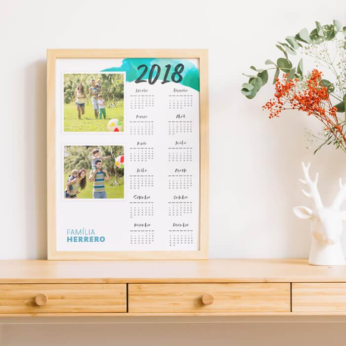 Calendário de Parede - Promo