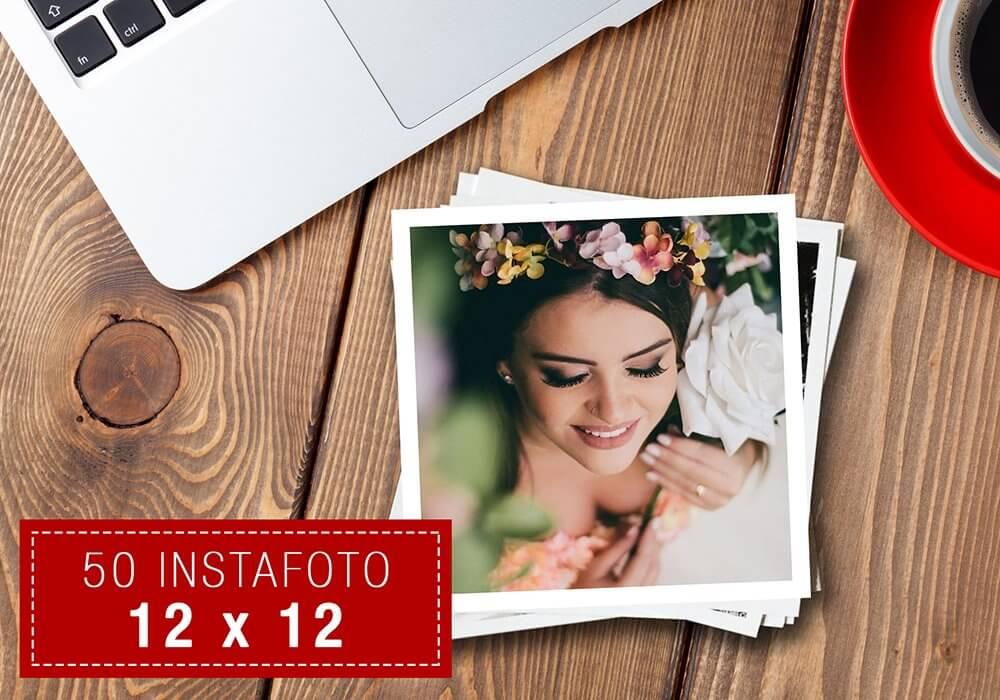 50 Instafoto 12x12 - Promoção